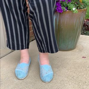 TOMS Crochet/Lace Shoes